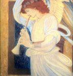 Archangel Gabriel public domain image guardian of KG Stiles website