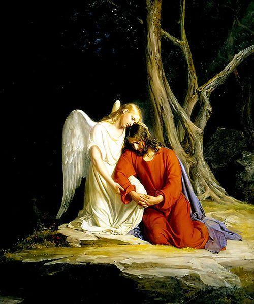 500px-Gethsemane_Carl_Bloch_angel-comforting-jesus-wiki-public-domain