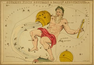 aquarius astrological sun sign public domain image