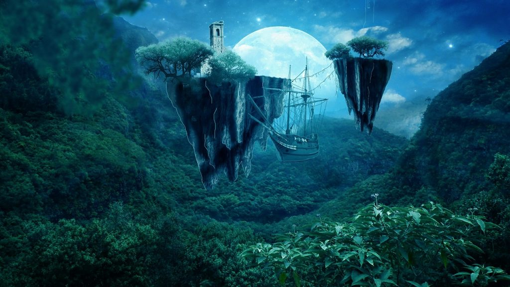 full-moon-photo-manipulation-ship-dreams-pixabay-public-domain